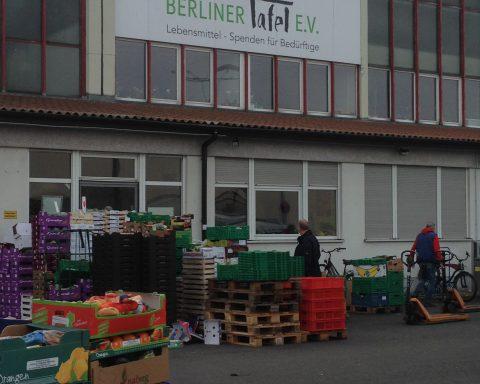 Front of the Berliner Tafel building