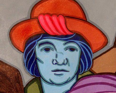 Mural of Margaret Sanger