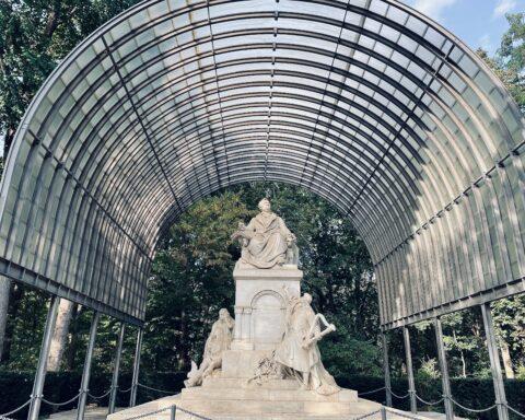 Richard Wagner Monument, Tiergarten, Berlin, September 2021