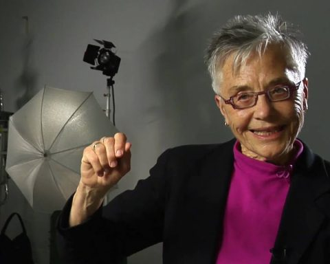 Thumbnail from video interview of Barbara Hammer