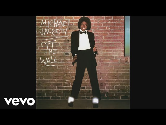 Cover art on the track Off the Wall by Michael Jackson