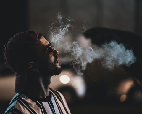 a smoker and smoke